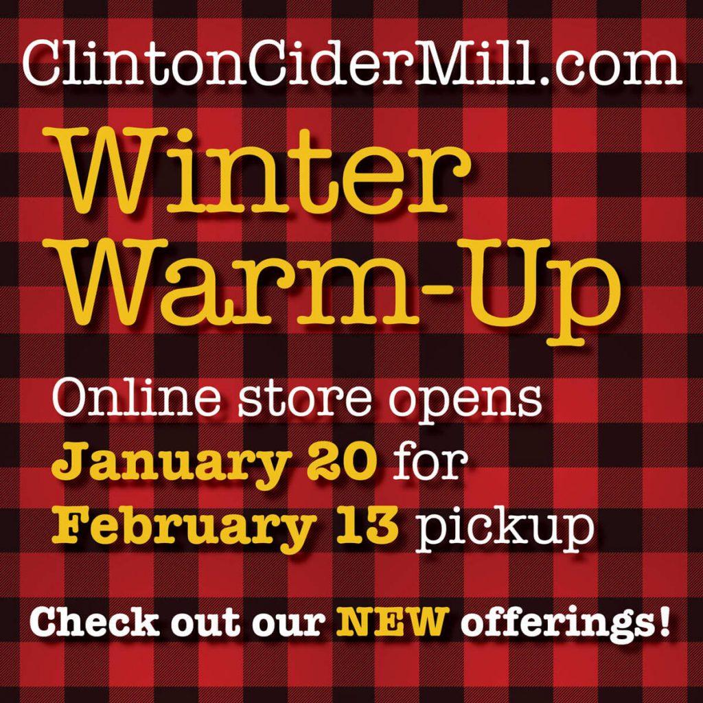Winter Warm-Up Sale!